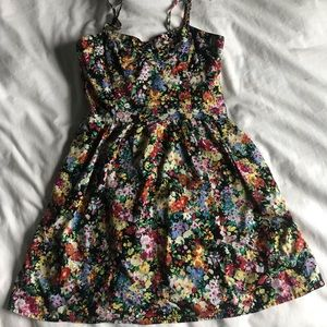 vintage f21 floral dress